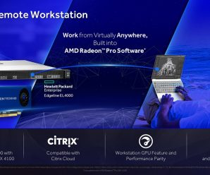 AMD Remote Workstation ora disponibile su HPE Edgeline EL4000 Engineering Workstation con la grafica Radeon Pro WX 4100